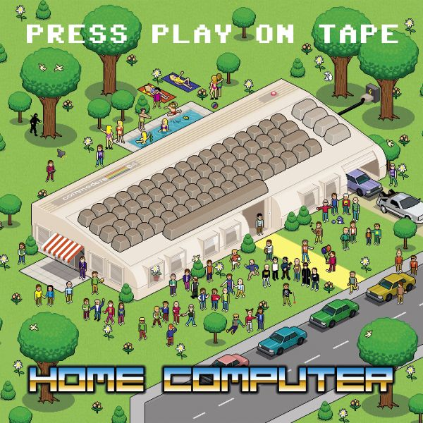 Album cover HOME COMPUTER