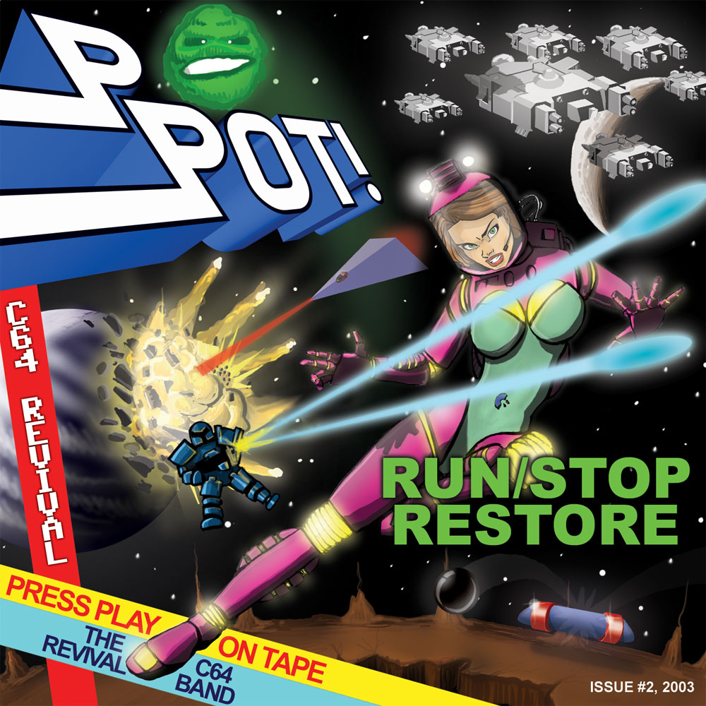 Album cover RUN/STOP RESTORE