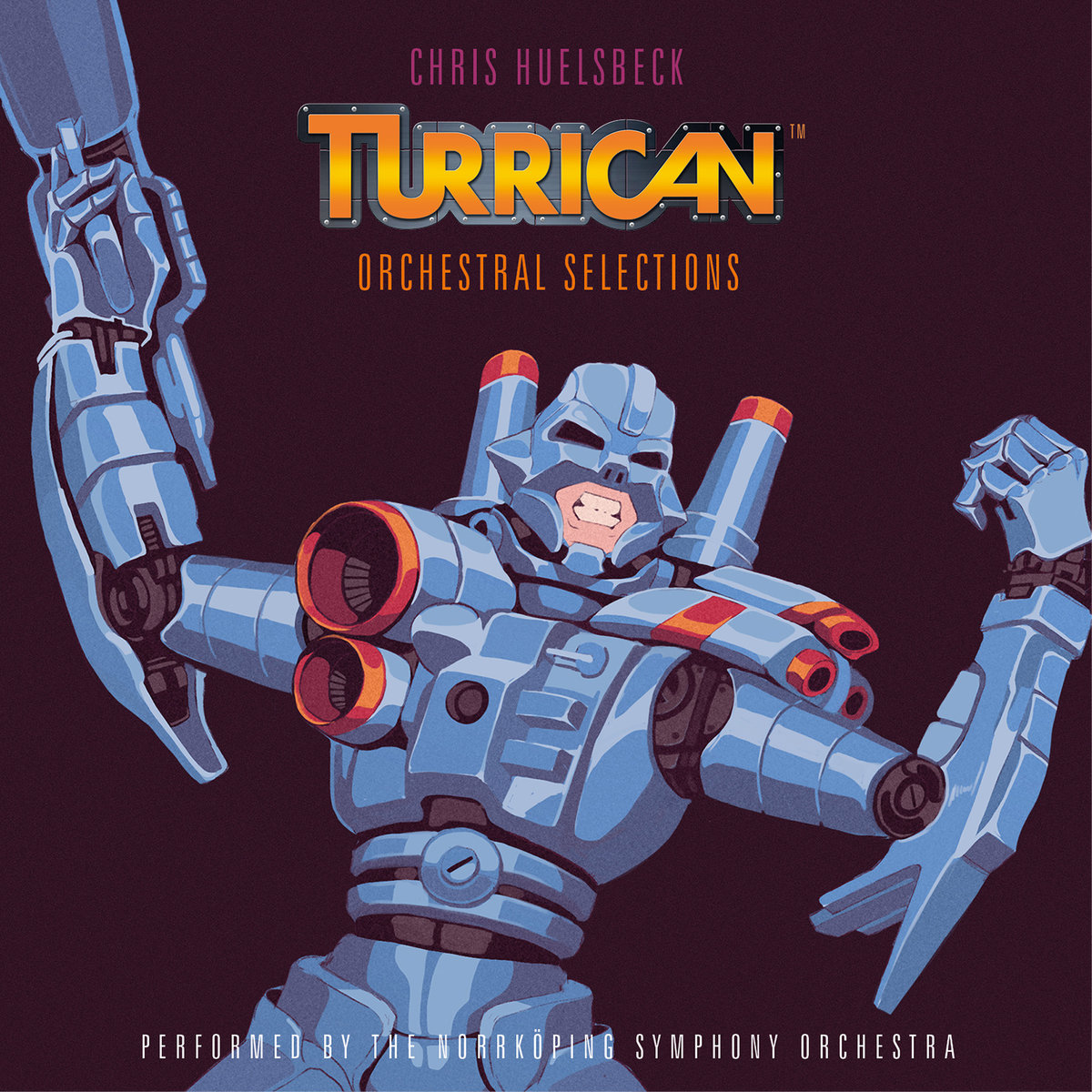 Album cover Turrican - Orchestral Selections